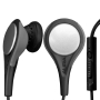 Zeal Sports Earphones For Iphone 4/3gs/3g And Ipods With Volume Control, Track Control, Mic And Xfit System