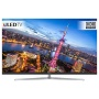 """Hisense H65NU8700 ULED HDR 4K Ultra HD Smart TV, 65"""" with Freeview Play, Ultra HD Certified, Silver"""