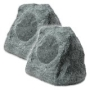 OSD Audio RS670 High Definition Outdoor Rock Speaker, Pair (Granite Grey)