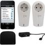 REV iComfort Starterset II Black,White smart plug