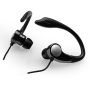 Sport CVE93 Earphone (Stereo - Black - Mini-phone - Wired - Behind-the-ear - Binaural - Open)
