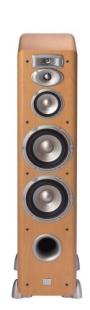 JBL L880BE 4-Way Dual 6-Inch Floorstanding Loudspeaker (Beech)