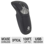 Gyration Air GO Plus - Mouse - optical / gyroscopic - wireless - 2.4 GHz - USB wireless receiver