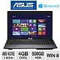 ASUS K55N-DS81 Laptop Computer - AMD Quad-Core A8-4500M 1.9GHz, 4GB DDR3, 500GB HDD, DVDRW, AMD Radeon HD 7640G, 15.6 Display, Windows 8 64-bit