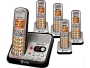 At&t El52500 Dect 6.0 5-handset Cordless Phone W/ Digital Answering System
