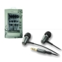 CLiPtec® Metalica BME919 In-Ear Headphones with cable wrap - Black/Grey