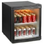 Frostbite Mini Fridge Black | by bar@drinkstuff | 46ltr Mini Fridge, Holds 30 Cans | Bottle Cooler, Can Cooler, Mini Bar | Mini fridge by drinkstuff,