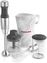 KitchenAid KHB2351CU - 3-Speed Hand Blender w/ 2.5-Cup Chopper & Whisk, Contour Silver