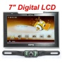 4UCam 7inch LCD Touch Screen GPS with Wireless Backup license Camera and Bluetooth System