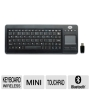 GearHead KB3800TPW Mini Wireless Touch Touchpad Keyboard - USB Black New