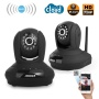 Wireless HD IP Security Camera - Pan + Tilt, IR Cut, H264