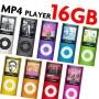 "16GB Slim 1.8"" LCD Music MP3 MP4 4th Gen Player"