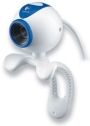 Logitech 961413 QuickCam Chat USB Webcam White/Blue