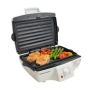 Hamilton Beach 25285 Indoor Contact Grill with Removable Grids