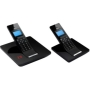 Idect- C5i Black Dect Cordless Answer Machine Phone