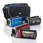 JVC Everio 8GB Flash Camcorder with Case and 4GB SDHC Card