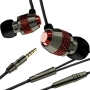 V-Moda Vibe Duo Earbuds / Headset (iPhone Compatible) - Gunmetal Rouge