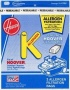 Hoover Vacuum K Allergen Bag Part # 4010100K
