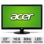 Acer S230HL Bmii 23 Class Widescreen LED Backlit Monitor - 1920 x 1080, 16:9, 100000000:1 Dynamic, 1000:1 Native, 60Hz, 5ms, HDMI, VGA