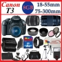 Canon EOS Rebel T3 Digital Camera w/18-55mm f/3.5-5.6 IS II Lens Basic Kit