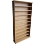 HARROGATE - CD / DVD / Blu-ray Media Storage Shelves - Oak