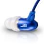 JBuds J6 High Fidelity Ergonomic Earbuds-Style Headphones (Sapphire Blue)