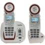 Clarity 59465 Dect_6.0 2-Handset Landline Telephone with Extra-Loud Big Button Phone System and Talking Caller ID