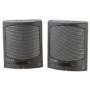 Coby CSP31BLK 3-Inch Personal Mini Stereo Speakers (Black)