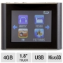 Eclipse T180 Mp3 Player - USB 4GB 1.8 LCD Touch Screen Mach Speed Eclipse T180 Mp3 Player - USB 4GB 1.8 LCD Touch Screen