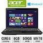 Acer TravelMate TMP273-MG-6448 Notebook PC - 3rd gen Intel Core i5-3230M 2.6GHz, 8GB DDR3, 500GB HDD, DVDRW, 2GB NVIDIA GeForce 710M, 17.3 Display, Wi