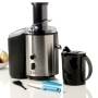 Elite Platinum Stainless Steel Juice Extractor with Paring Knife