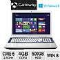 Gateway NV76R23u NX.Y2DAA.005 Notebook PC - 3rd generation Intel Core i5-3210M 2.5GHz, 4GB DDR3, 500GB HDD, DVDRW, 17.3 Display, Windows 8 64-bit, Whi