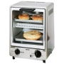 Sanyo SK-7S Space Saving Toasty Oven, Silver
