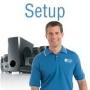 Basic Home Theater Setup Service