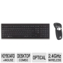 Gyration Air Mouse Go Plus with Full Sized Keyboard - Keyboard - wireless - 2.4 GHz - 104 keys - mouse - USB wireless receiver