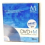 New Permanent Data Storage DVD+R INKJET M-Disc Media 10 Pack