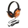 Califone Kids First Stereo Headphone - Animal Design, Tiger