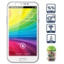 BW Star N9389 MTK6589 Quad core Note II Android 4.1 Phone 1GB RAM 8GB ROM 3G WCDMA GPS Dual Camera 8MP 5.3 inch Cellphone White