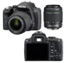 Pentax K-r Digital Camera with 18-55mm and 50-200mm lenses