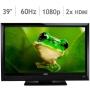 """VIZIO 39"""" Class 1080p LCD HDTV E390VL"""