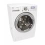 LG : WM2688HWMA 27 Front-Load Steam Washer - White