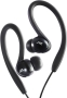 JVC HAEBX5B Splash Proof Sports Headphone  - Black