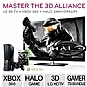 "LG 55LW6500 55"" 1080p 240Hz 3D LED HDTV and Xbox 360 Console and Halo Combat Evolved Anniversary Bundle"