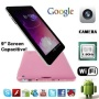 Afunta 9.2'' Google Android 4.0 Tablet Dual Camera Capacitive Touch Screen G-sensor A13 Tablet (8G Dual Camera, pink)