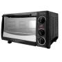 Euro-Pro 6 Slice Toaster Oven Black w/ 12 Pizza Bump