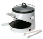 Hamilton Beach 80200 Flat Bread MealMaker Bread Press and Skillet