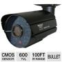 Night Owl CAM-OV600-365A 600 TVL Security Camera - 36 Cobalt Blue LEDs, 100' ft Night Vision, 3-Axis Bracket, Facial Recognition, IR Cut Filter, Audio