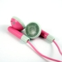 Pink Stereo Earphones Headphones for ALL Apple iPods & iPhone 3GS 3G S 4G iPod Touch iTouch Nano