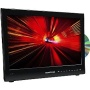 "NEW Vision Plus 18.5"" Widescreen Digital/Analogue LED TV and DVD Player Mains & 12/24V."