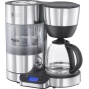 Russell Hobbs Purity 20770 Filter Coffee Machine with Timer - Silver / Black